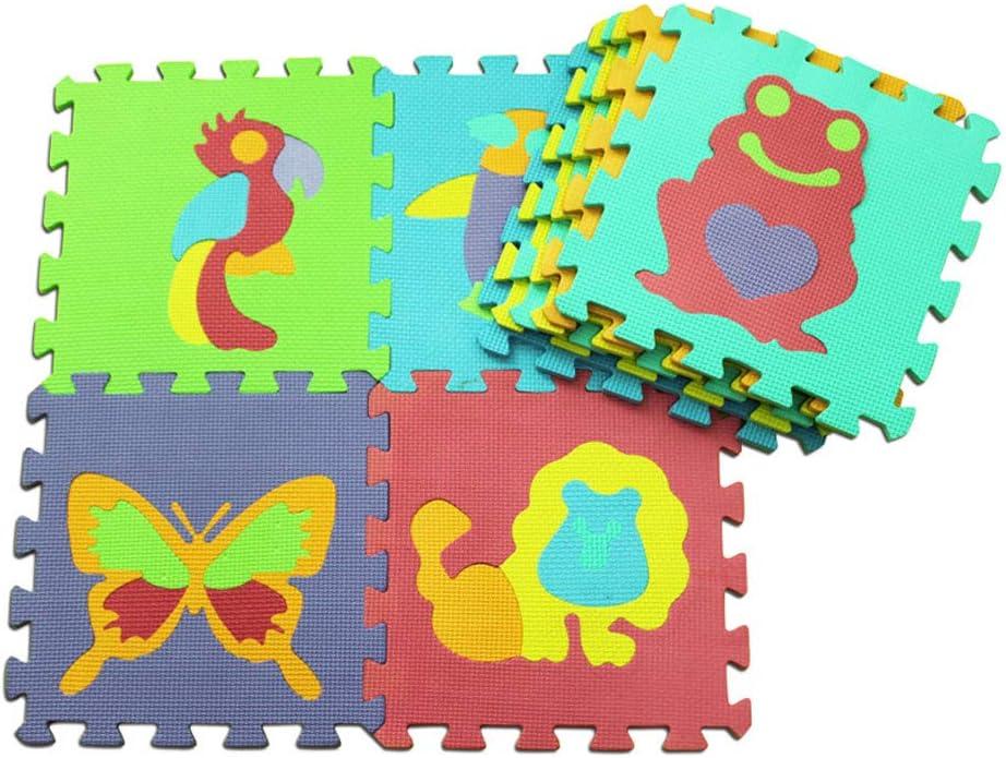 BARMI 10Pcs Set Inexpensive Baby Kids Crawling EVA Nu Mat Fruit Animal Ranking TOP20 Floor