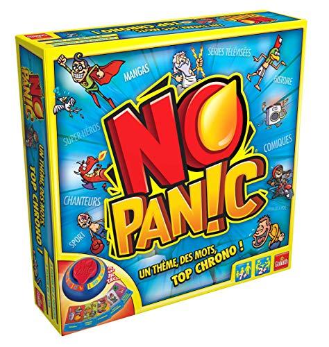 Goliath - No Panic - Jeu de famille - à partir de 7 ans- Jeu de société - Jeu de quizz