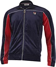Fila Men's Cisco Zip Front Velour Track Jacket