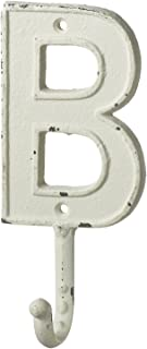 Midwest-CBK Monogram Letter B Single Wall Hook Painted Cast Iron 7.5 Inch