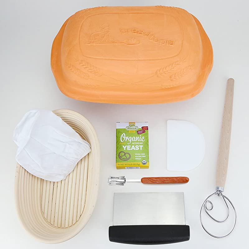 Breadtopia Home Baking Kit Country Loaf