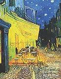 Vincent van Gogh Planificador de 90 Días: Terraza de Café por la Noche | Organizador del Programa Mensual | Planificador Semanal de 3 Meses, 12 Semanas | Ideal Para la Escuela, el Estudio y la Oficina
