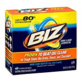 BIZ Stain & Odor Eliminator Laundry Detergent Powder (80 oz.) - Pack of 2