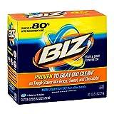 BIZ Stain & Odor Eliminator Laundry Detergent Powder (80 oz.) - Pack of 2