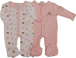 con Etiquetas. Tiny Prematuro Preemie Bebé Niña 2 Pack de