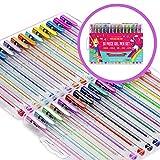 Regalos para Niñas - Bolígrafos De Gel - Set De 30 Bolis De Tinta De Gel De Colores - Manualidades - Bolis De Colores, Gel Pens, Regalo Niña 3 a 12 Años