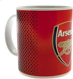 Arsenal FC Fade Design Ceramic Mug In Acetate Box