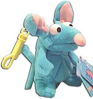 Disney's Bear in the Big Blue House Tutter Mouse Plush Treasure Keeper Clip On Key Holder