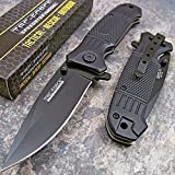 Best Get Tac Force Tac Force Folding Knives - TAC Force Spring Assisted Opening Black Tactical Folding Review