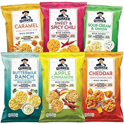 Quaker Rice Crisps 6 Flavor Variety Pack 12-Count Now $14.99