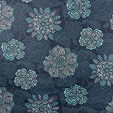 Tischdeckenstoff Wachstuch beschichtete Baumwolle Mandala