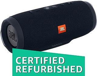 (Renewed) JBL Charge 3 Powerful Portable Speaker with Built-in Powerbank (Black)