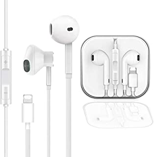 iSuperfine Earbuds, Microphone Earphones Stereo Headphones NoiseIsolating Headset Fit Compatible with iPhone 11/Xs/XR/XS M...