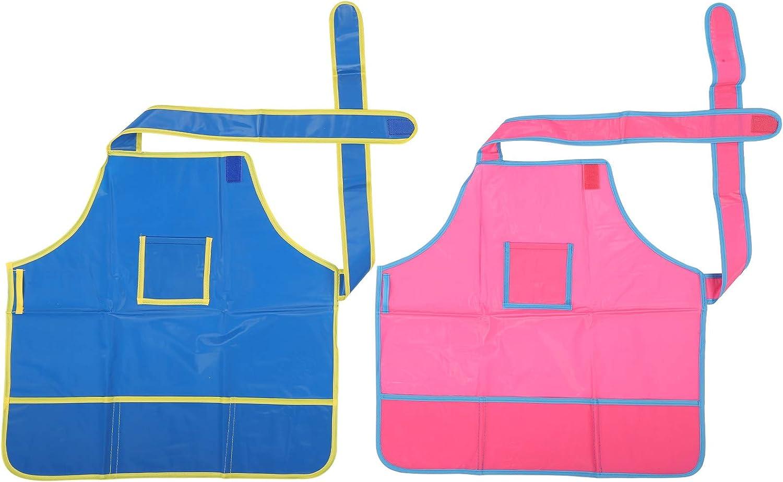 ohcoolstule Childrens drawing apron Popular standard work clothes New mail order art waterproof