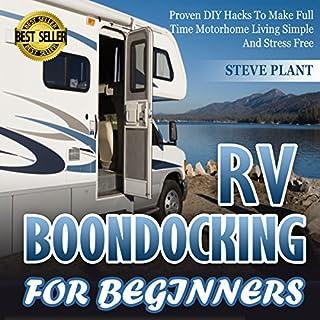 RV Boondocking for Beginners cover art