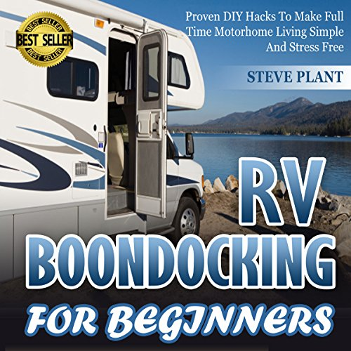 RV Boondocking for Beginners audiobook cover art