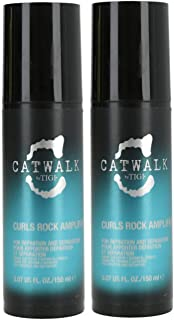 TIGI S-Factor Catwalk Curls Rock Amplifier, 150 ml, Pack of 2