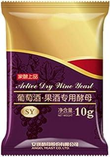IrahdBowen Levure De Vin pour Le Vin Fait Maison 10g Élément Nutritif De Levure De Fabrication De Vin Levure Nutriment Enz...