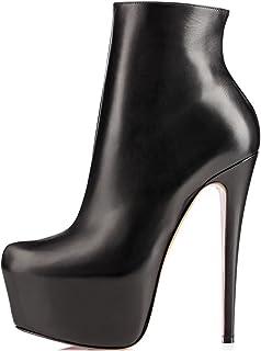 EDEFS - Scarpe da Donna - Tacco a Spillo - Stivali Donna - Zip Stivaletti Donna