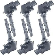 LQQDP Pack of 6 New Ignition Coil on Plug Pack Fit Dodge Freightliner Mercedes Benz C230/250/280/300/350 E280/300/350/550 S400/450/550 R350/550 CLK350/550 ML350/450/550 SLK280/300 V6 V8 UF535 UF585