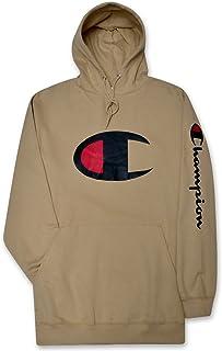 Champion Men's Big Tall Performance Pieced 1/4 Zip Sweatshirt