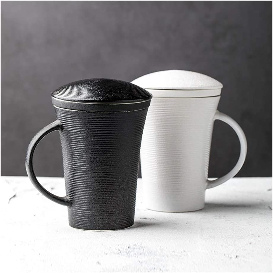 coffee cup Tea Cup with and Lid Ceramic Filter Cup,Simple Dedication Max 83% OFF