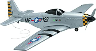30in Large WWII Rechargeable Radio Control Mustang Airplane Plane P51 Four channel 72 mHz 1600 Ft Range 10 min Fly Time