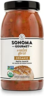 Sonoma Gourmet, Organic Roasted Garlic Pasta Sauce - 1 case (pack of 6)