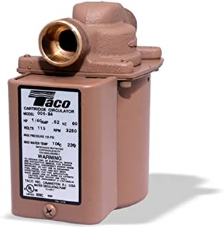 Taco 006-B4 Bronze Circulator Pump 3/4-Inch Sweat