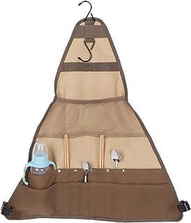 Torba do przechowywania sztućców, torba na naczynia kempingowe, organizer na sztućce na piknik na świeżym powietrzu