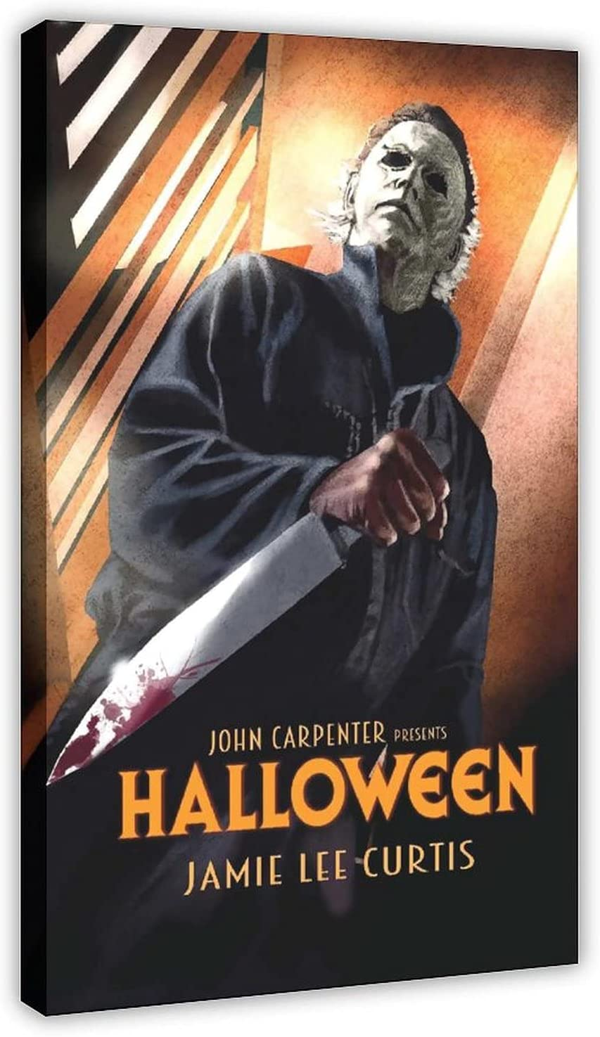 Halloween 1978 Horror Movie Classic New product 14 Poster Canvas Wa Ranking TOP4