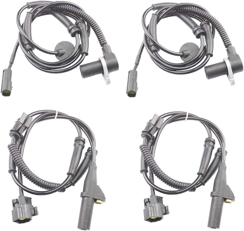 VCAUTO Set of 4 正規品スーパーSALE×店内全品キャンペーン Front + Rear 希望者のみラッピング無料 for 20 2002 Speed ABS Sensors Wheel