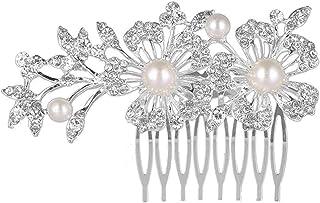 69398789493f Amazon.es: tocados de boda - Diademas / Accesorios de peinado: Belleza