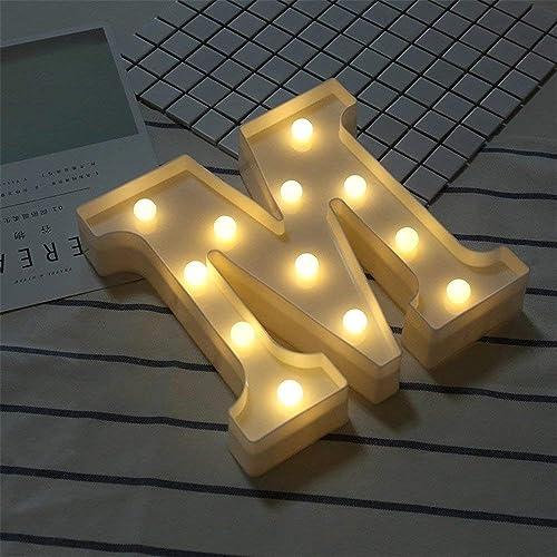Lights & Lighting Reasonable Led Marquee Letter Lights Diy 26 Alphabet Light Up Marquee Letters Sign Night Light Battery Powered For Festival Wedding Tx