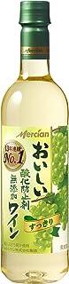 【13年連続売上No.1】メルシャン おいしい酸化防止剤無添加白ワイン ペットボトル [ 720mlx12本 ]