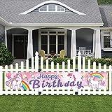 O-Kinee Happy Birthday Banner, Geburtstag Banner,