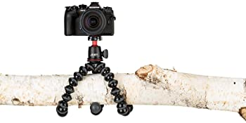 Joby JB01507 GorillaPod 3K Kit. Compact Tripod 3K Stand and Ballhead 3K for Compact Mirrorless Cameras or Devices up ...