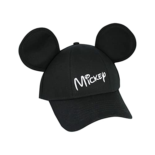 e7422c21 Disney Youth Hat Kids Cap with Mickey Mouse Ears (Mickey Black)