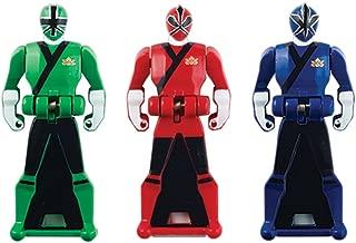 Power Rangers Super Megaforce - Samurai Legendary Ranger Key Pack, Red/Blue/Green