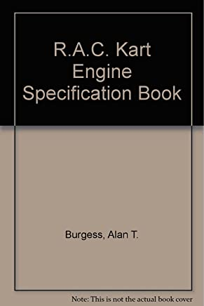 Royal Automobile Club Kart Engine Specification Book