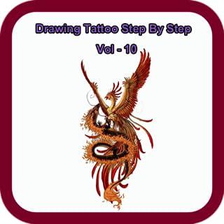 Drawing Tattoo Step By Step Vol - 10