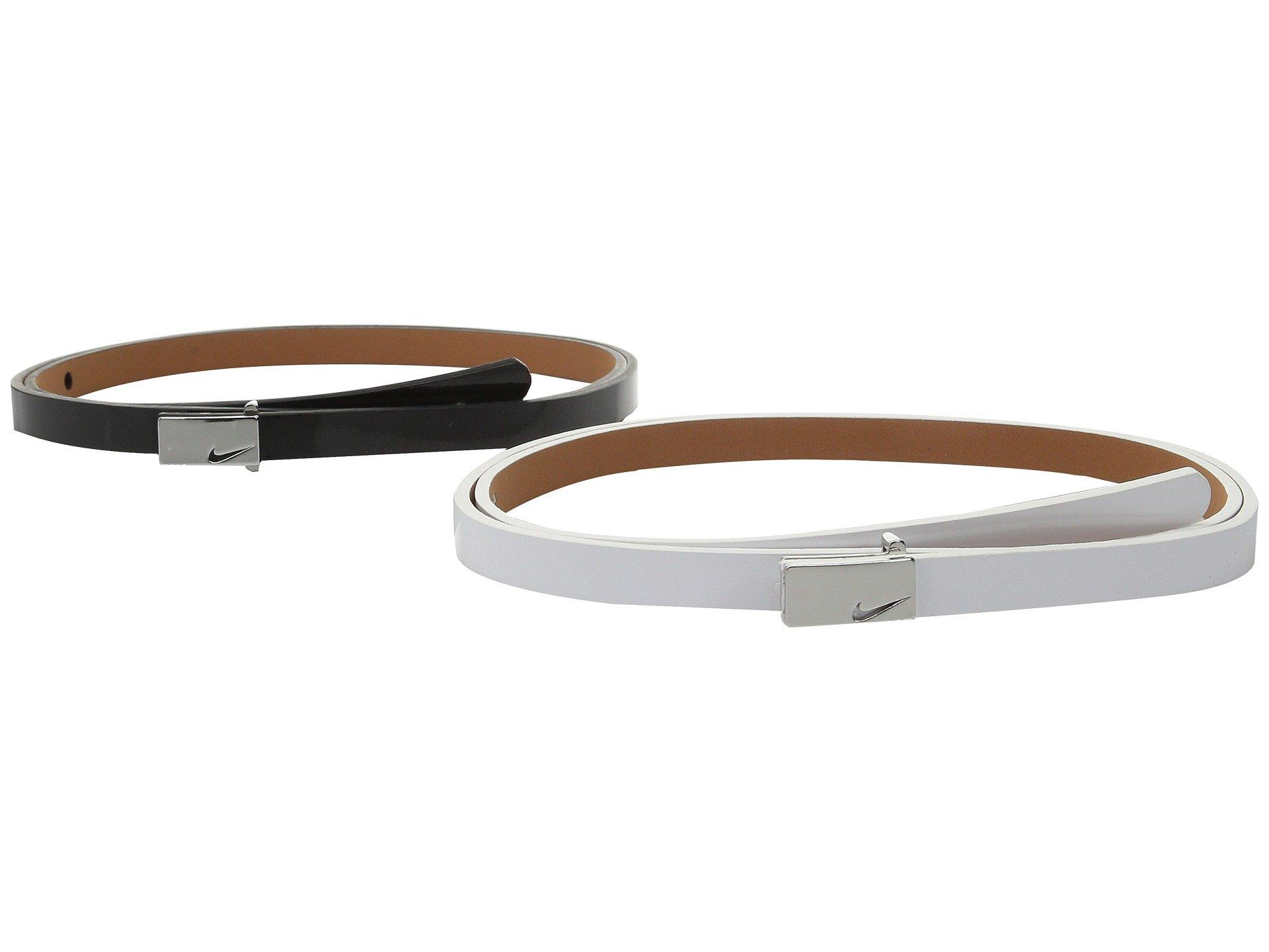 Correa o Cinturon para Mujer Nike Sleek Modern 2 for 1 Skinny  + ike en VeoyCompro.net