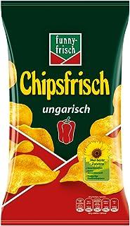 funny-frisch Chipsfrisch ungarisch, 10er Pack 10 x 175 g