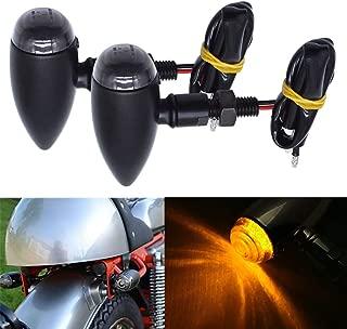 Motorcycle Bullet LED Turn Signal Light Blinker Indicator Front Rear Tail Light for Harley Honda Yamaha Suzuki Chopper Bobber
