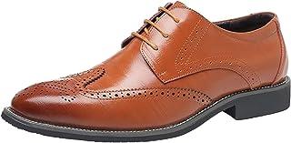 PPXID Homme Classique Commercial Leather Chaussure Habillées Élégantes