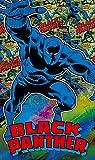 Komar - Marvel - Vlies Fototapete BLACK PANTHER - 120 x 200 cm - Tapete, Wand Dekoration, Superheld, Panter - VD-008