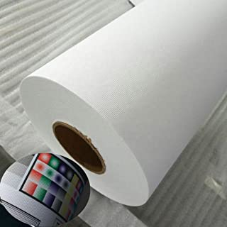 "$246 » UV Printing Inkjet Art Canvas 54""x100ft. Roll 55% Poly-45% Cotton Waterproof and Instant-Dry White Matte-Finish Printable ..."