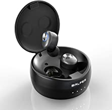 Balfer Wireless Earbuds, True Wireless Bluetooth Earbuds with IPX5 Waterproof, Bluetooth Headset via 2 Modes/BT 5.0 / 8H Playtime with Charging Box, Microphone for iPhone Samsung Huawei etc