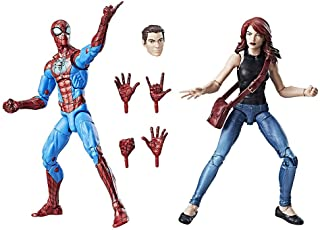 Marvel Legends Spider-Man & Mary Jane 2 Pack 6