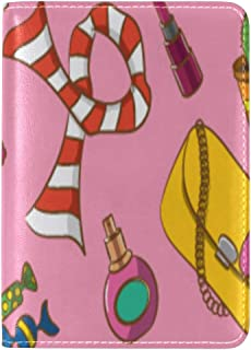 Passport Cover Case Jewelry Hand-painted Fashion Leather&microfiber Multi Purpose Print Passport Holder Travel Wallet For Women And Men 5.51x3.94 In